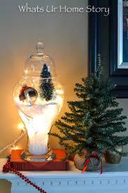 Apothecary Jars Christmas Decorations Egg Carton Holiday Amaryllis Ornament Whats Ur Home Story 74