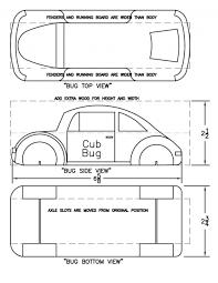 Automotive Body Design Pdf 004 Pinewood Derby Templates Template Ideas Car Design