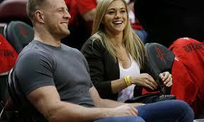 Watt and women's soccer star kealia ohai were. Jj Watt Has Awesome Reaction To Wife Kealia S Big News