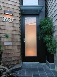 modern glass front door. Plain Modern Glass And Metal Front Doors  Really Encourage Modern Door  Oikos Nova Inside D