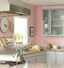Pink Kitchen Walls living beautifully: dust does not bother me