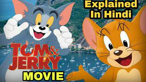 Tom & Jerry - Official Trailer Explained In Hindi   Tom & Jerry Live-Action  Movie 2021 Review - YouTube