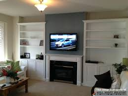 tv above fireplace where to put components figure 5 hang tv over fireplace where to put