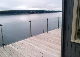 glass deck railing system wild should you add railings to your invisirail home ideas 4