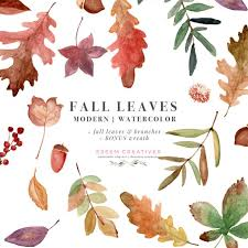 Fall Invitation Watercolor Fall Leaves Clipart Thanksgiving Fall Wedding Bridal Shower Invitation Graphic With Transparent Background
