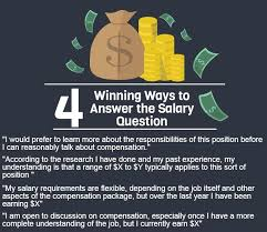 Careers Interview Questions Handling Difficult Interview Questions About Salary