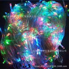 halloween outdoor lighting. 100M 500 Led String Lights Outdoor Christmas Tree Halloween Ac 220V Holiday Lamp Beads Waterproof Wedding Lighting