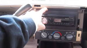 How To Install/Remove An Aftermarket Radio In A '95-'98 ('99 ...