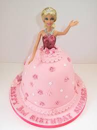 Barbie Cake In Vanilla And Pink Fondant 50 Barbie Cake In Flickr