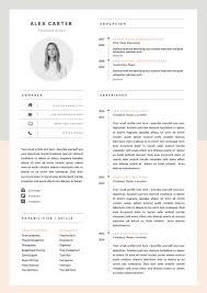 resume design graphic