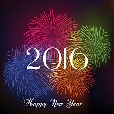happy new year 2016 with fireworks.  New Happy New Year Fireworks 2016 Holiday Background Design  Stock Vector  Colourbox For New Year With Fireworks