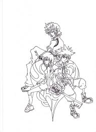 Small Picture Kingdom Hearts Coloring Page Printable Video Game Coloring Pages