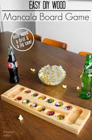 Mancala Wooden Board Game Pneumatic Addict EASY DIY Wood Mancala Game Board 39