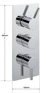 thermostatic shower valve with diverter ergo concealed thermostatic shower valve with 3 way chrome c thermostatic shower valve with diverter