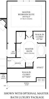 master bedroom with bathroom floor plans. Toll Brothers - Alon Estates: Master Suite Layout Bedroom With Bathroom Floor Plans E