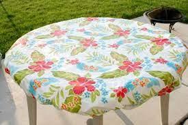 table cover diy outdoor tablecloth