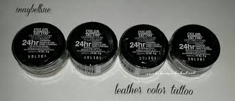 Maybelline Color Tattoo Leather Collection Cosmetic Taste
