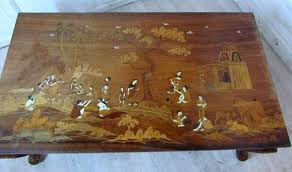 indian theme antique coffee tables