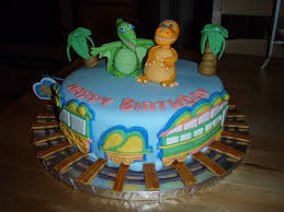 For Batter Or For Worse 4th Birthday Cake Dinosaur Train