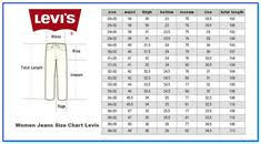 Levis 511 Size Chart 36 Best Ebay Images In 2019 Cheap Clothes Ebay Clothes