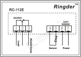 wholesale ringder rc 112e digital temperature controller Incubator Thermostat Wiring Diagram wiring diagram ringder rc 112e digital temperature controller thermostat for incubator 230v 110v incubator thermostat circuit diagram
