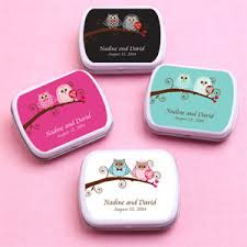 owl bride and groom personalized mint tins personalized wedding Wedding Favors Mint Tins owl bride and groom personalized mint tins personalized mint tins wedding favors
