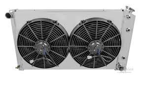chevy chevelle radiator aluminum 4 row champion shroud amp click thumbnails to enlarge