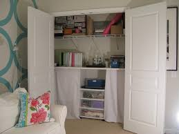 home office in a closet. Ikea Office Ideas Home Closet How To Turn A Into An Space In