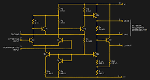 Design Aspects Of Monolithic Op Amps Deconstructing A Simple Op Amp Hackaday