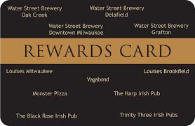 water street brewerycard