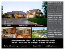 creative services flyer templates group one real estate template 17
