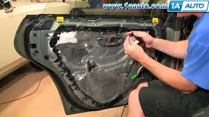 how to install replace remove rear door panel subaru outback 00 04 Door Wiring Harness 99 Legacy how to install replace remove rear door panel subaru outback 00 04 1aauto com youtube 2008 Silverado Door Wire Harness