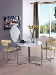 Viva Design Furniture Viva Home Rosa Foldable Round Dinning Table