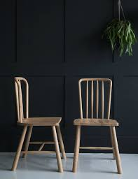 wooden dining chairs uk