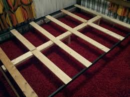 how to support a mattress without a box spring build a diy bed frame for 10