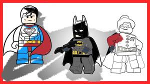 Small Picture Coloring Pages Lego Robin The Lego Batman Movie Draw It Too