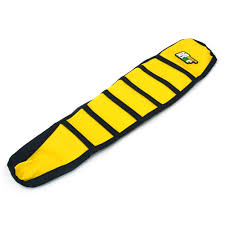 yellow rubber gripper soft motorcycle seat cover for suzuki rm125 rm250 96 00