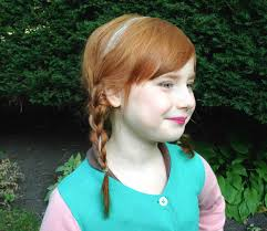 hair and makeup for anna from disney s frozen
