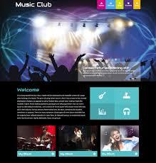 Music Website Templates Impressive 48 Best Free Music Html Website Templates Free Download