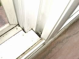 Collection Sliding Door Weep Holes Pictures - Woonv.com - Handle idea