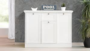 Kommode Landwood Sideboard Anrichte In Weiß Mit 3 Türen