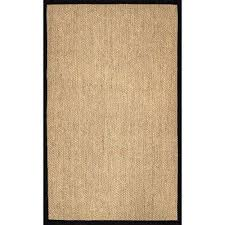 natural cindy black 9 ft x 12 ft area rug