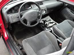Black Interior 1995 Honda Civic EX Coupe Photo #48490843 ...
