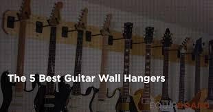 the 5 best guitar wall hangers display