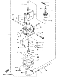 1998 yamaha timberwolf 250 2wd yfb250uk carburetor parts best oem rh bikebandit 150cc scooter wiring diagram 150cc scooter engine diagram