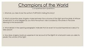 champion of the world a angelou acirc brvbar hqafcq hqafcq ppt 4 champions