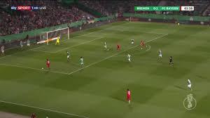 Вердер Бремен 2-3 ФК Бавария Мюнхен полный видеоролик видео - DBF Pokal 2019