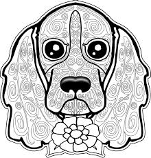 Dog Coloring Page Dog Coloring Pages