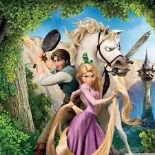 Tangled Rapunzel Flynn And Maximus iPad ...