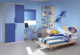 simple blue bedroom. Modern Style Kids Bedrooms Simple With Room Decor Blue Color Bedroom D